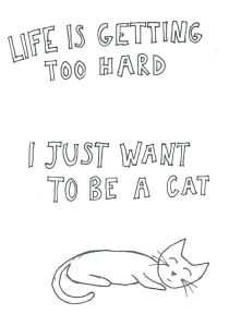 want to be a cat